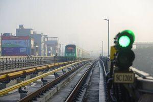 Vận hành thử toàn hệ thống đường sắt Cát Linh - Hà Đông