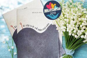 Nhà văn Đỗ Bích Thúy tặng Mottainai 2018 cuốn sách mới nhất