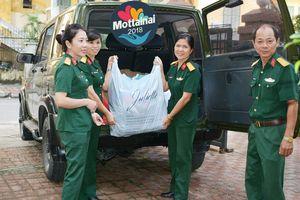 Kho J112, Cục Xe - Máy, Tổng cục Kỹ thuật, Bộ Quốc phòng trao đồ ủng hộ Mottainai 2018