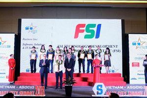 FSI đạt Top 50 doanh nghiệp CNTT hàng đầu Việt Nam 2018