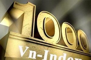 Vn-Index chinh phục thành công mốc 1.000 điểm