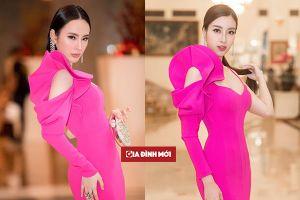 Hoa hậu Đỗ Mỹ Linh 3 lần 'đụng độ' váy áo với Angela Phương Trinh, ai đẹp hơn ai?