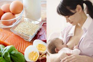 Mẹ nên ăn gì khi đang cho con bú để sữa về ào ạt, dinh dưỡng dồi dào?