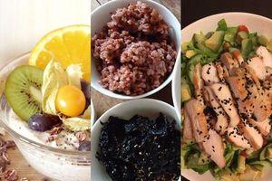 Áp dụng chế độ dinh dưỡng này vào 3 bữa ăn chính mỗi ngày, bạn sẽ giảm dễ dàng 3kg sau 1 tuần