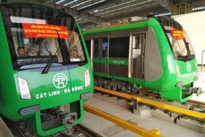 Chính thức vận hành thử nghiệm tuyến đường sắt Cát Linh - Hà Đông