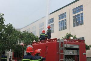 Điểm sáng trong thực hiện an toàn vệ sinh lao động - phòng chống cháy nổ