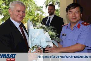 Viện kiểm sát nhân dân tỉnh Lào Cai tiếp Đoàn đại biểu Viện kiểm sát tối cao Hungary
