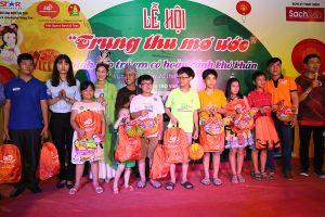 Vũng Tàu: Hơn 300 trẻ em có hoàn cảnh khó khăn tham dự Lễ hội 'Trung thu mơ ước 2018'