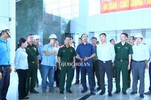 Ủy ban Quốc phòng và An ninh giám sát tại cảng hàng không Quốc tế Vân Đồn