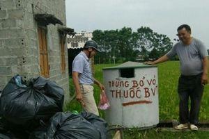 Hà Nội: Hiệu quả cao từ mô hình thu gom vỏ thuốc BVTV tại xã Thượng Lâm
