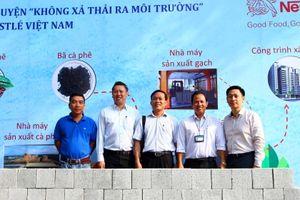 Nestlé Việt Nam xây trường học cho hơn 1.000 học sinh bằng gạch từ sản xuất cà phê