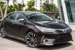 Toyota Corolla Altis bản nâng cấp chuẩn bị được giới thiệu tới khách hàng Việt