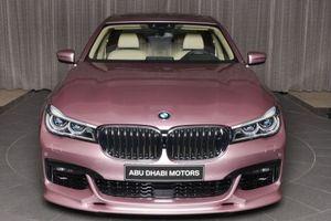 BMW 7-Series phong cách 'mợ chảnh' với bộ cánh Rose Quartz từ BMW Individual