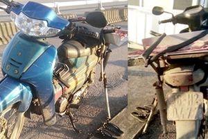 Tìm chủ sở hữu chiếc xe máy để lại trên Cầu Bính sáng 20-9