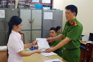 Công an Hà Giang trao trả tài sản cho bị hại
