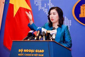 Việt Nam nói gì về hoạt động của tàu chiến Anh, Nhật ở Biển Đông?