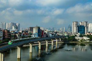 Toàn cảnh đường sắt trên cao Cát Linh - Hà Đông chạy thử toàn tuyến