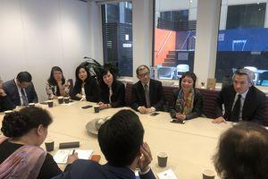 Hội doanh nhân Việt tại Australia làm việc với đoàn công tác của TP. Hà Nội