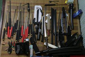 Bắt giữ nam thanh niên mua bán vũ khí trái phép ở Vĩnh Phúc