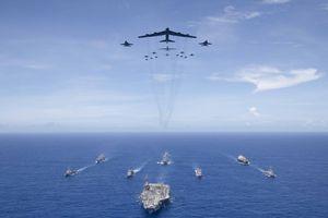 Mỹ tổ chức tập trận quy mô lớn ở đảo Guam, Thái Bình Dương
