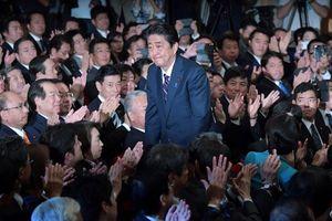 Thủ tướng Shinzo Abe được bầu làm Chủ tịch đảng Dân chủ tự do (LDP)