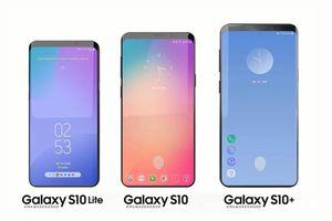 Samsung Galaxy S10 trang bị màn hình tỷ lệ mới