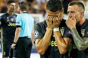 UEFA điều tra, Ronaldo đối mặt án phạt nặng