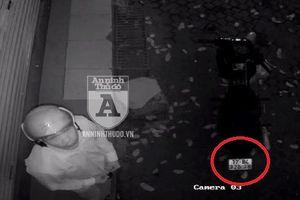 Kẻ trộm chuẩn bị sẵn 'đồ nghề' để… 'câu' camera an ninh