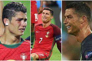 6 lần bật khóc như đứa trẻ đáng nhớ nhất sự nghiệp của Ronaldo