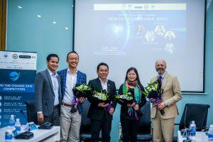 Nửa tỉ đồng cho giải thưởng khởi nghiệp Lead the Change 2018 Competition