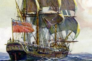 Tìm thấy xác con tàu huyền thoại từng phát hiện ra Australia