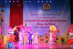 LĐLĐ quận Tây Hồ giành giải Nhất Hội thi 'Nét đẹp văn hóa công sở'