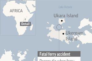 44 người tử nạn vì chìm phà ở hồ nước ngọt lớn nhất Châu Phi