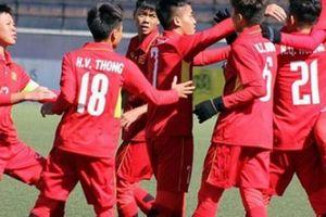 Lịch thi đấu của U16 Việt Nam VCK U16 châu Á 2018