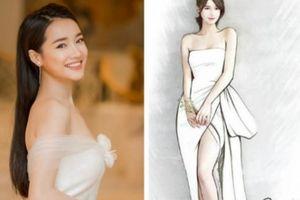 Lộ thiết kế váy cưới gợi cảm của Nhã Phương trong đám cưới hot showbiz