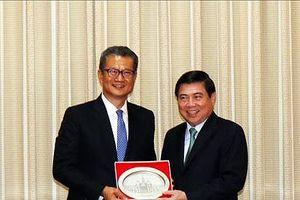 Thúc đẩy hợp tác nhiều mặt TPHCM - Hồng Công