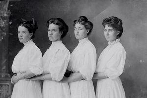 Ngất ngây ngắm vẻ đẹp của thiếu nữ châu Âu thập niên 1910