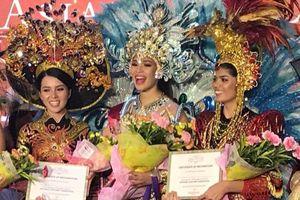 Thúy Vi vào top 3 giải thưởng trang phục truyền thống đẹp nhất trong cuộc thi sắc đẹp quốc tế