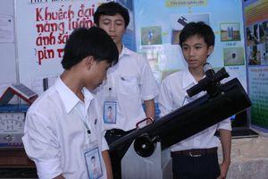 Cần Thơ: Phong trào HS nghiên cứu khoa học ngày càng phát triển mạnh
