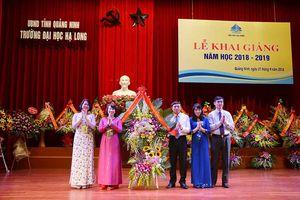 Trường Đại học Hạ Long khai giảng năm học mới