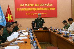 Ra mắt Tổ Công tác liên ngành về Việt Nam tham gia hoạt động gìn giữ hòa bình Liên hợp quốc