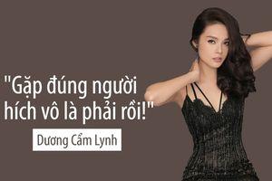 Dương Cẩm Lynh bàn chuyện 'phim giả tình thật': 'Gặp đúng người hích vô là phải rồi!'