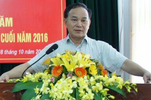 Cảnh cáo nguyên Giám đốc Sở NN - PTNT Thanh Hóa Lê Như Tuấn