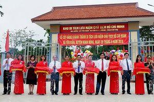 Phú Thọ: Khánh thành khu Di tích lưu niệm Chủ tịch Hồ Chí Minh