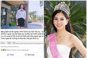 Những 'lùm xùm' bủa vây tân Hoa hậu Trần Tiểu Vy khi vừa đăng quang