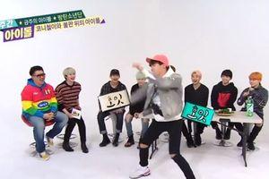 Cười té ghế với điệu nhảy sexy của loạt nam idol Kpop