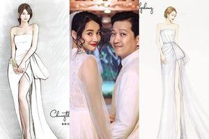 Tiết lộ chiếc váy đặc biệt Nhã Phương sẽ mặc trong tiệc cưới với Trường Giang