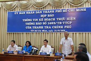Triển khai yêu cầu của Thanh tra Chính phủ: UBND TP.HCM xin lỗi nhân dân vì sai phạm ở Thủ Thiêm