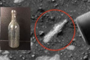 Phát hiện vỏ chai - tàn tích của nền văn minh cổ đại trên sao Hỏa?