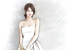 Hé lộ váy cưới Nhã Phương sẽ mặc trong ngày cưới Trường Giang